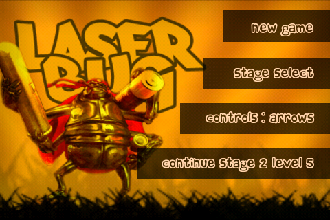 Screenshot LaserBug Lite